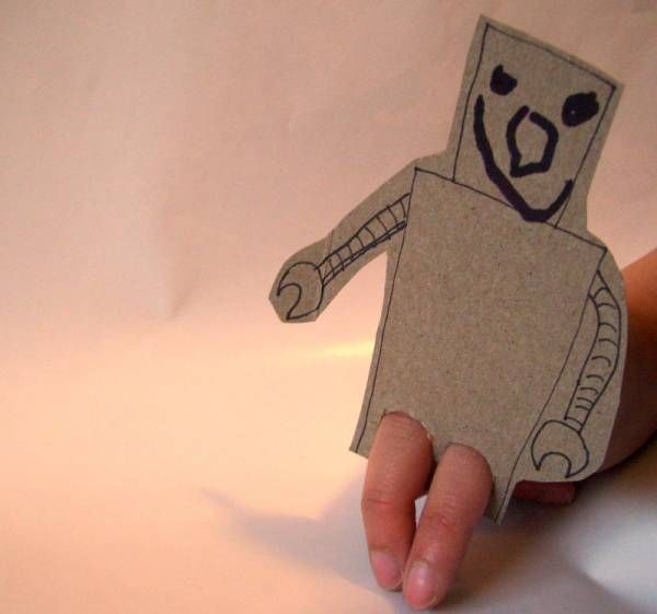 Marionnette à Doigt | La cabane à idées                                                                                                                                                     Plus