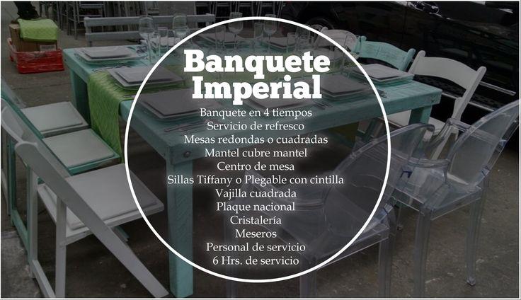 #Banquete #BanqueteImperial #CDMX #Eventos Los mejores banquetes para tu evento en México. Nosotros te ofrecemos el mejor servicio para tus invitados. ORGANIZACIÓN DE EVENTOS La Buff.  Precio: 420 x persona.  Tel: 36 00 52 74 WhatsApp. 55 83 45 07 79 www.eventoslabuff.com