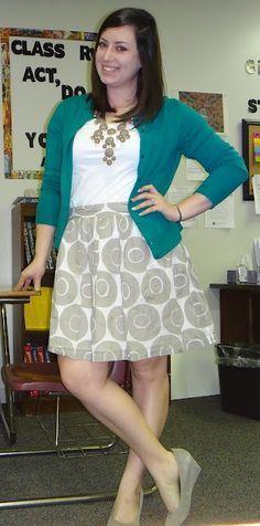 teacher outfits! on Pinterest   Khakis, Khaki Pants and Teaching