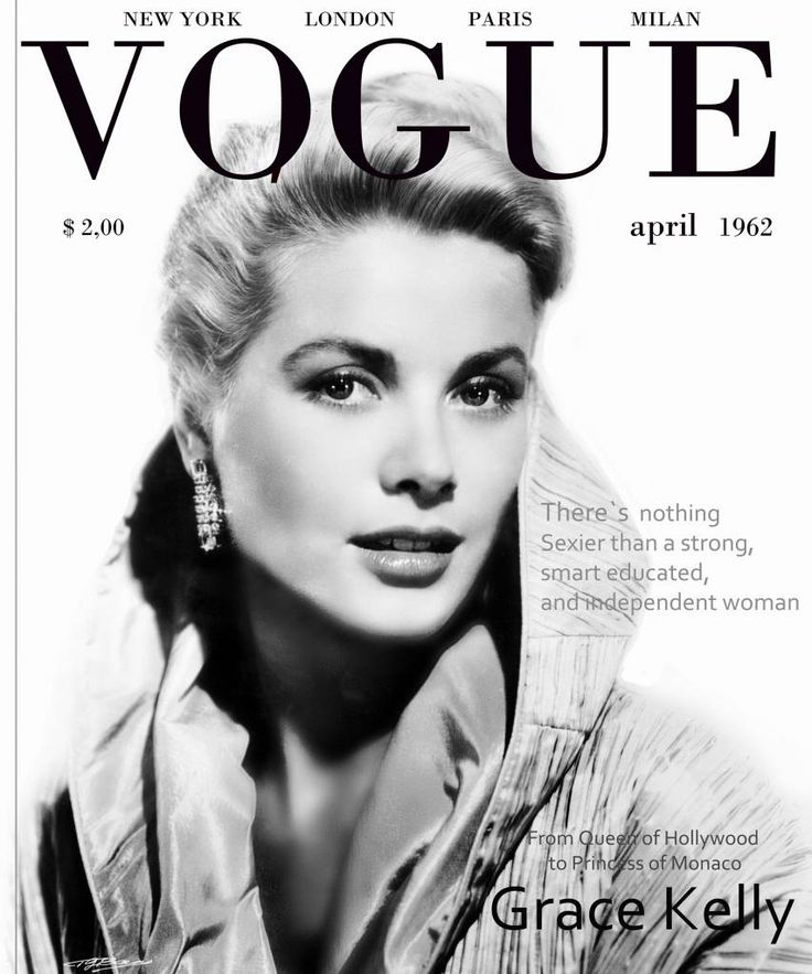 Grace Kelly Vogue cover 1962                                                                                                                                                                                 More                                                                                                                                                                                 More