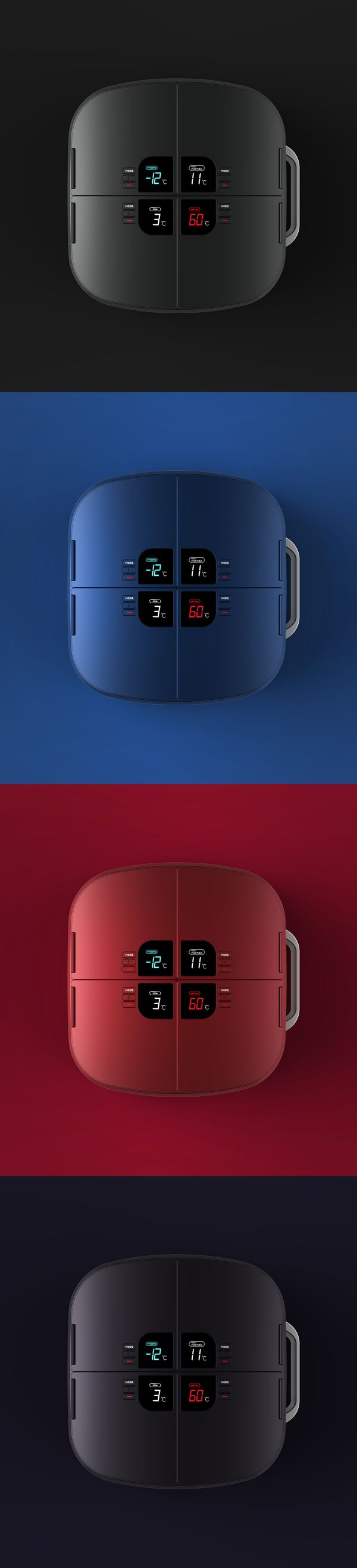 GOURMATE by Jongha Lee, via Behance