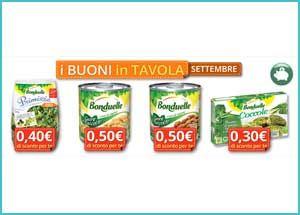 Il nuovo mese porta con sé nuovi coupon Bonduelle: clicca qui per scoprire i buoni sconto di settembre 2015. Scarica i coupon Bonduelle di settembre 2015 Sul sito...