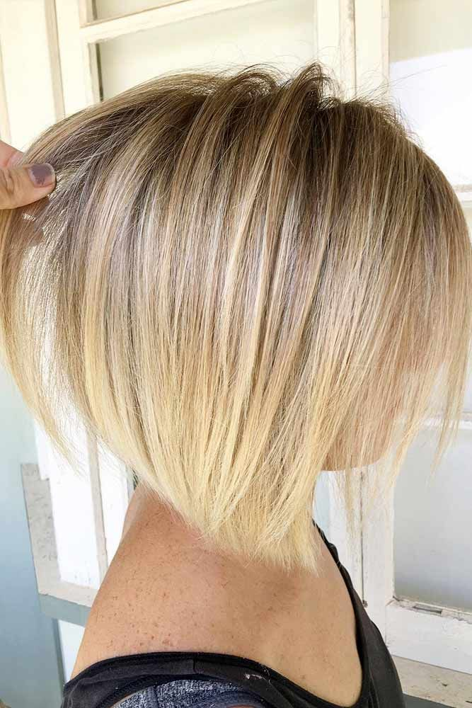 Choose Ombre Or Balayage For Your Short Hair Bob Haircut Shorthair Shorthairideas Bobhaircut Hairst Thin Hair Haircuts Hair Styles Hairstyles For Thin Hair