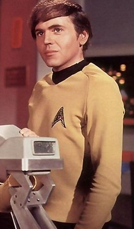 Walter Koenig  Paval Chekov. Happy 77th Birthday!!!! :) (Sept 14th, 2013)