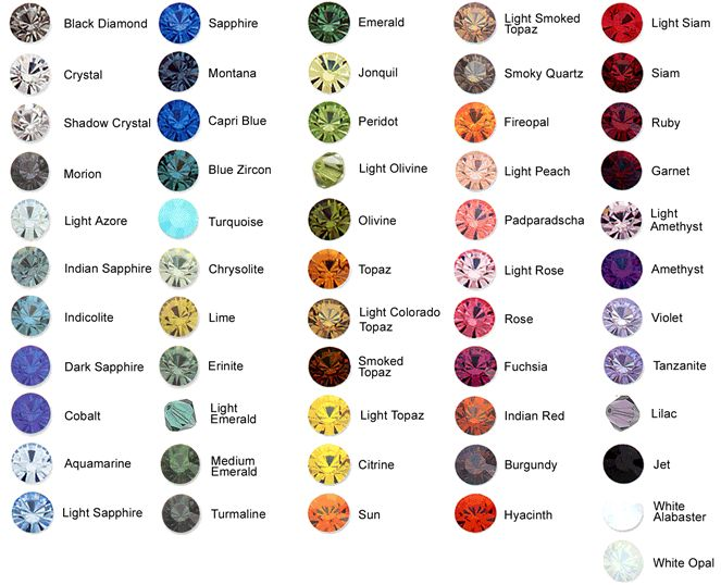 Guys, i have got a question for you!  You know how much we love BLING and we were just wondering.... Would you be interested in buying Swarovski gems from our online shop? Look at these gorgeous colours! Which one would you grab? Comment below!