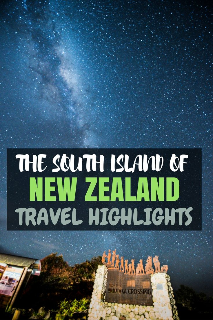 Traveling the South Island of New Zealand!? Make sure you don't miss my Top 10 Travel Highlights!! #NewZealand #SouthIsland #VisitNewZealand #Travel #KiwiExperience