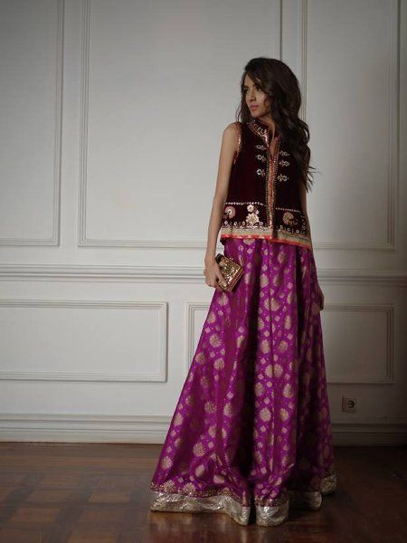 Misha Lakhani Evening Wear Collection 2015 For Girls