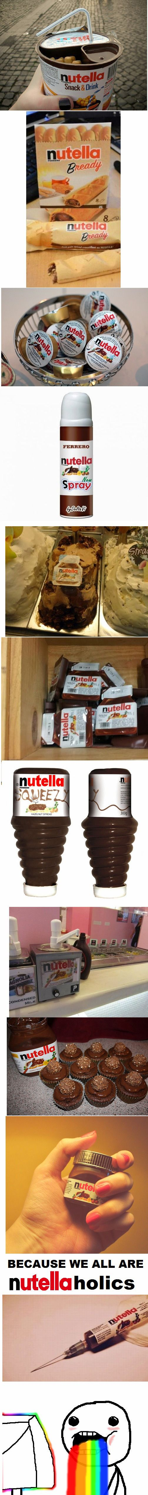 because we all are NUTELLAholics