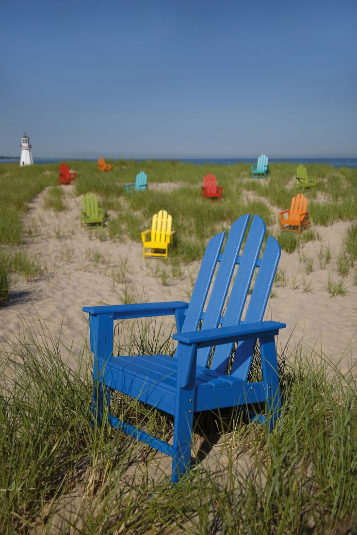 Polywoodu0027s Long Island Adirondack Chair Pairs Classic Style With  Weatherproof Construction And 13 Color Choices.