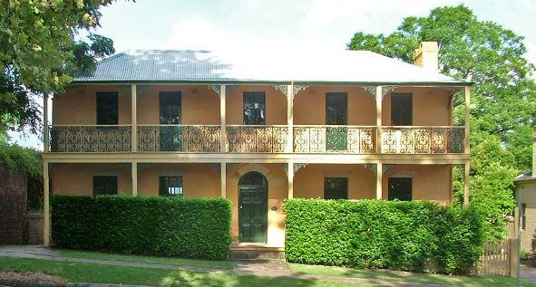 A photo of Howe House. Hawksbury Museum