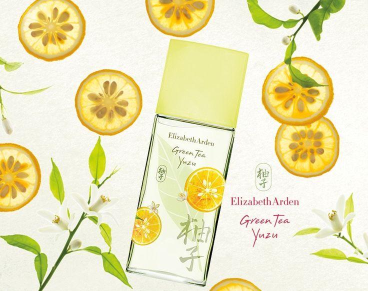 Green Tea Yuzu Elizabeth Arden парфюм для женщин 2014 год #elizabetharden
