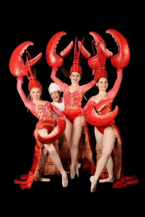 Illinois Youth Dance Theatre Lobster scene from The Little Mermaid