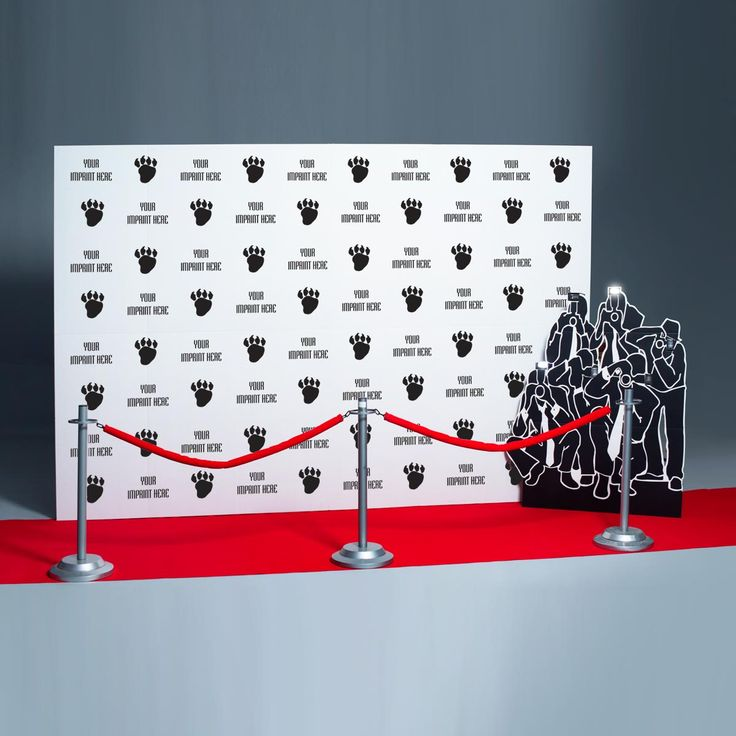 Step And Repeat Wall Photo Prop Back To School Red