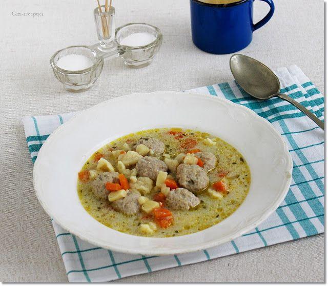 Tárkonyos húsgombóc leves   Fotó via gizi-receptjei.blogspot.hu - PROAKTIVdirekt Életmód magazin és hírek - proaktivdirekt.com