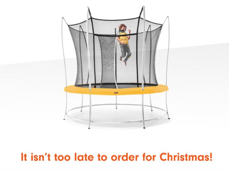 Don't freak out yet - you still have time to order yours for Christmas! www.trampolinedealse.com.au #vulytrampolineforchristmas