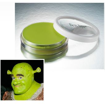 "Ben Nye ""Ogre Green"" Professional Crème Color, 1 oz, will be getting lots of this for Mike!"