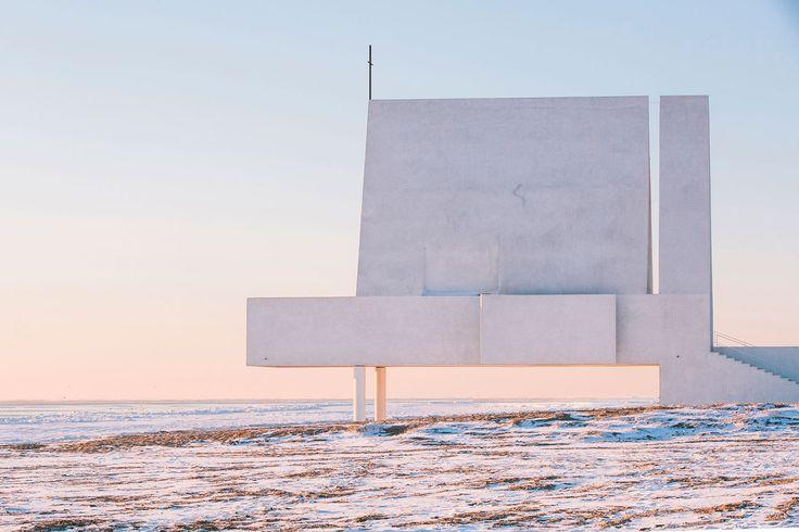 Vista exterior. Seashore Chapel por Vector Architects. Fotografía © Chen Hao. Imagen cortesía de Vector Architects.