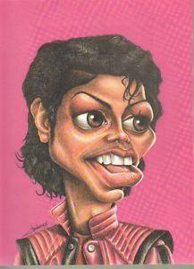 Jackson 5 Caricatures | ... sur 1987 : clipping caricature : chanteur MICHAEL JACKSON (1 page