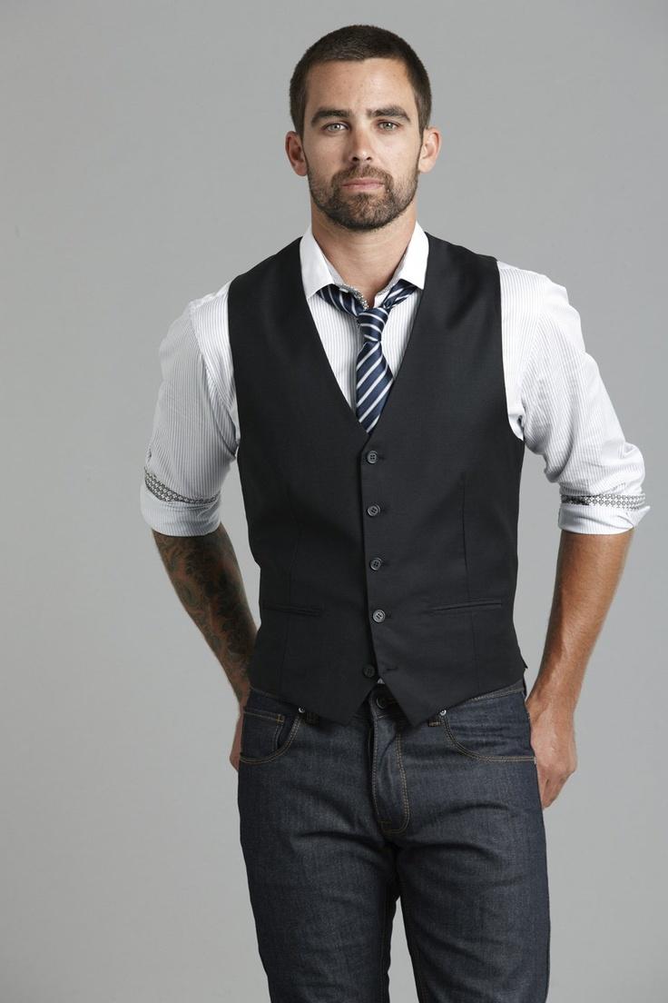 Waistcoat. Vest. Hotness.