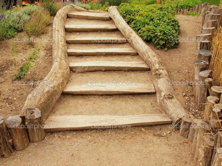 110 melhores imagens sobre cercas escadas e caminhos de - Scale in giardino ...