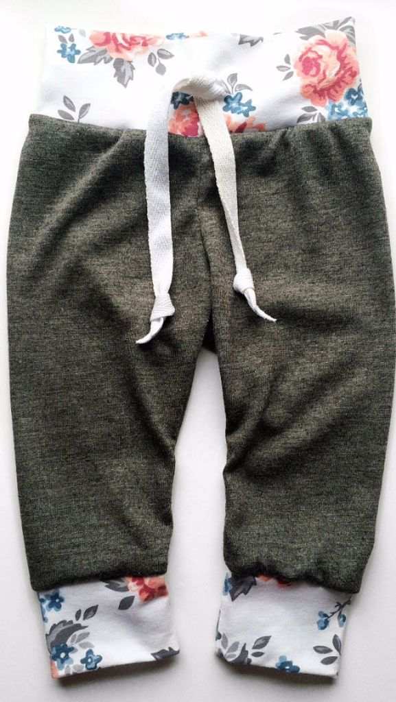 Field of roses Baby-Toddler joggers