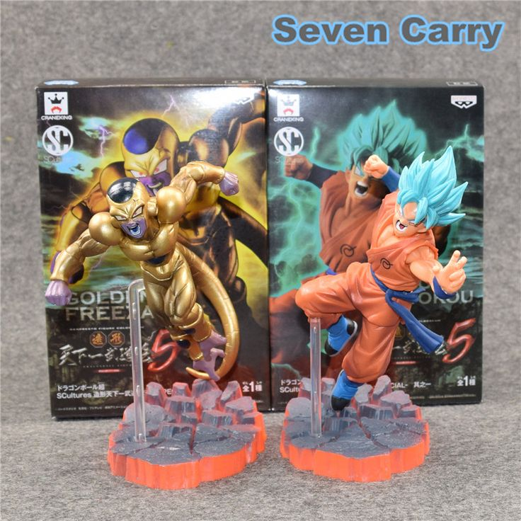 Dragon Ball Freezer VS Goku Z Resurrection F Super Saiyan God goku Gold Frieza Battle Ver PVC Action Figure Model Toy Gift // Like and share if you like it    #yaoi #draw #bleach #fanart  #animeart #artist
