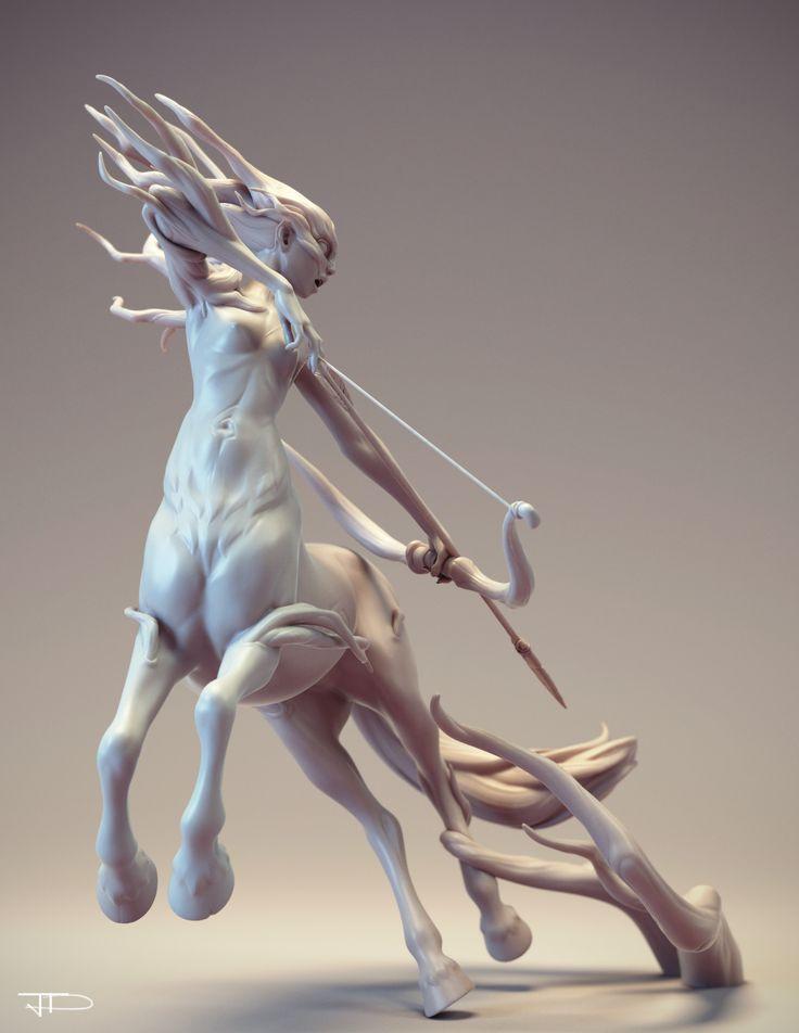 ArtStation - Centaure, Julien Desroy