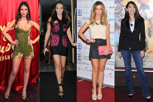 Pictured: Sila Sahin revealing the waxwork of Justin Bieber at Madame Tussauds in Berlin. In London Tamara Ecclestone outside Nobu Berkeley while Lauren Pope was at National Luxury & Lifestyle Awards. Finally, Caterina Murino at The Pirates! Band of Misfits premiere in Paris.