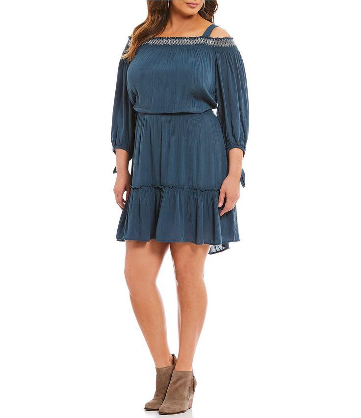 Jessica Simpson Plus Amila Dress | Dillards