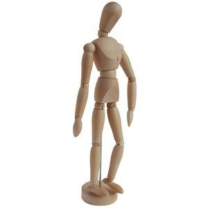 A  Manikin To dress up as famous actors and make weird poses! :)