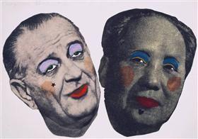 Drag - Johnson a Mao - Jim Dine