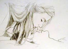Image result for dibujos a lapiz de parejas enamoradas tumblr