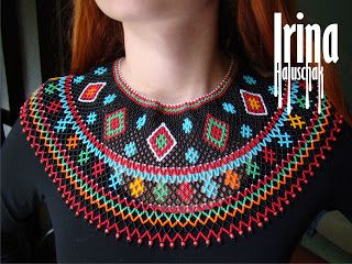 Hand-made by Irina Haluschak: Лемківська криза чорна