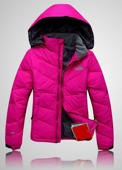 The North Face Womens Down Jackets Metropolis Purple $67.69