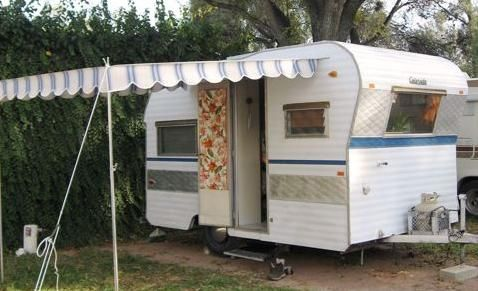 How to Get Off Grid in a Vintage Travel Trailer