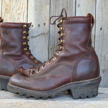 chippewa logger boot #chippewaboots