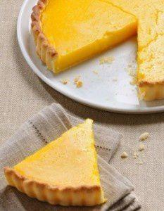 Recette Tarte au citron. Pate cuote a blanc et creme au citron. Miam