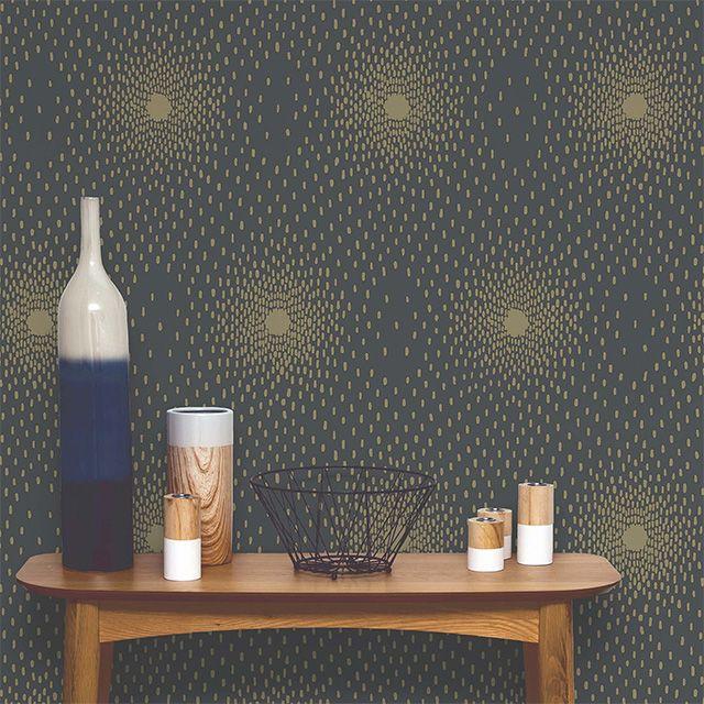 les 25 meilleures id es concernant papier peint dor sur. Black Bedroom Furniture Sets. Home Design Ideas