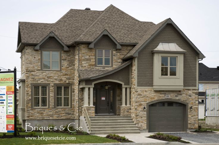Decorative Stone Homes : Cultured stone thin veneer exterior home