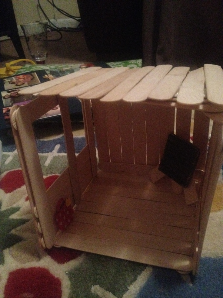 63 best american girl doll party images on pinterest for How to build a treehouse with sticks