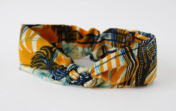 African Knotted Headband €15 on Etsy