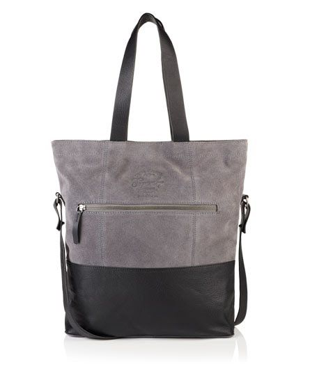 Superdry Anneka Block Tote Bag Black