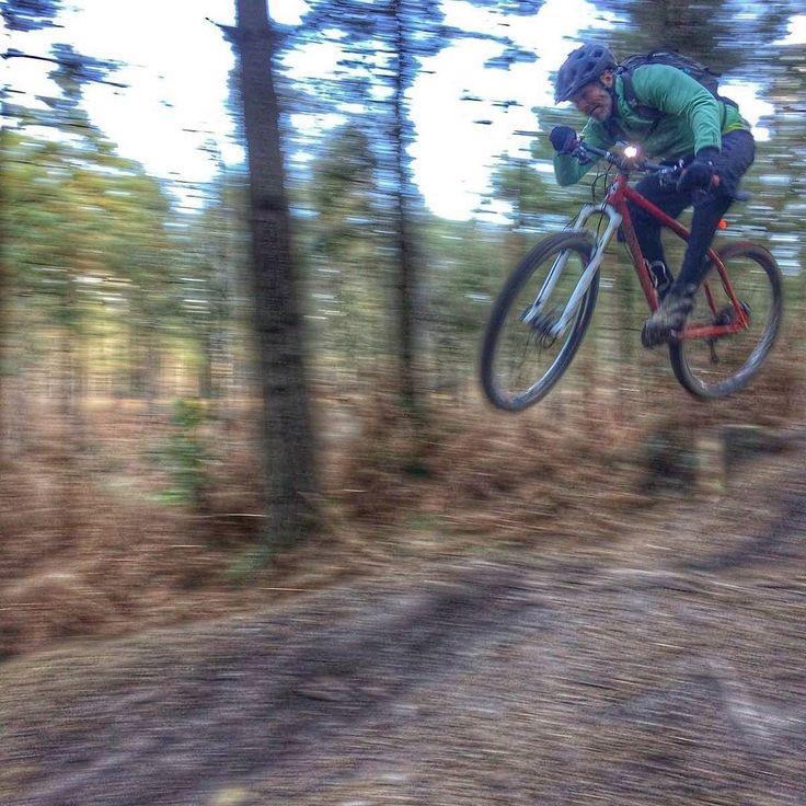 A bit of flying Krampus action    @intergalacticsurlybikes @surlysociety @surlybikesuk @surlysteel @steel_is_real_mtb #surly #krampus #29er #steelisreal #dynamohub #SON28Dynamo @use_exposurelights #revo @chriskingbuzz #singletrack #mountainbikes #igbikes #ridewithaview #outsideisfree #lifebehindbars #sussexmtb #ridemoreworkless #ukmtb