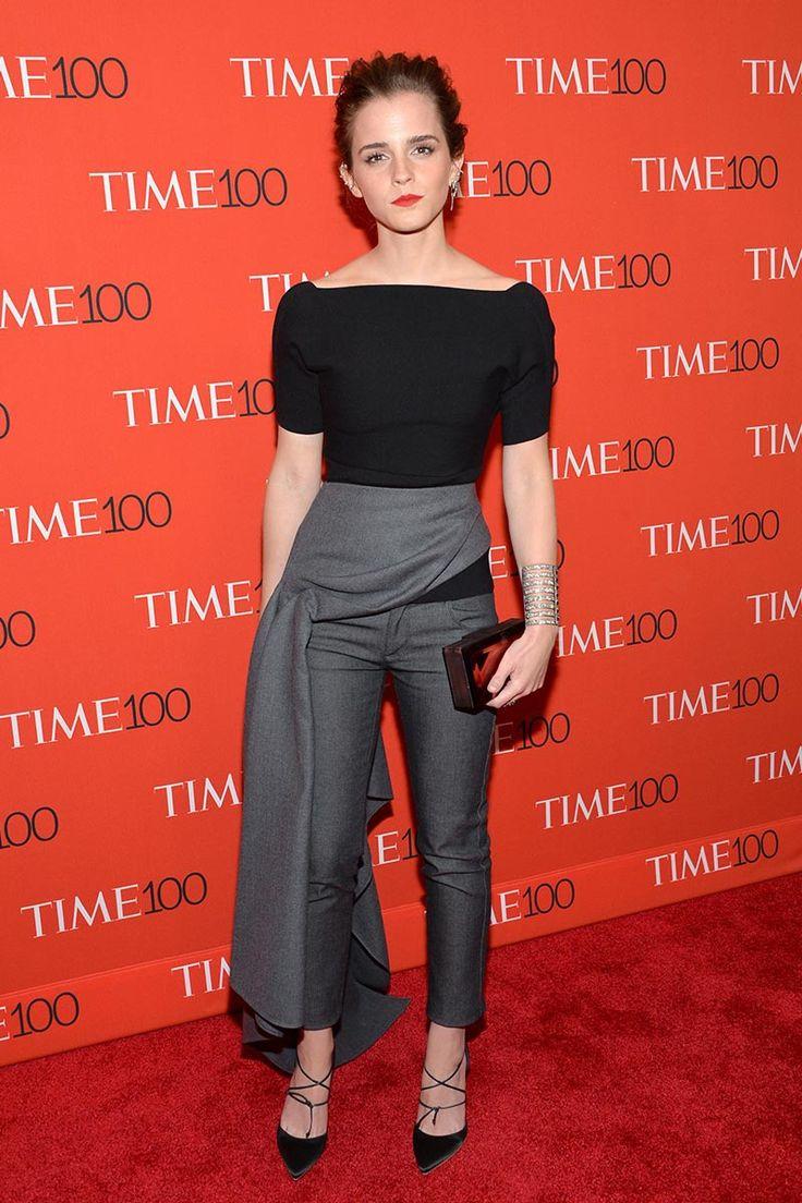 Emma Watson o la elegancia personificada