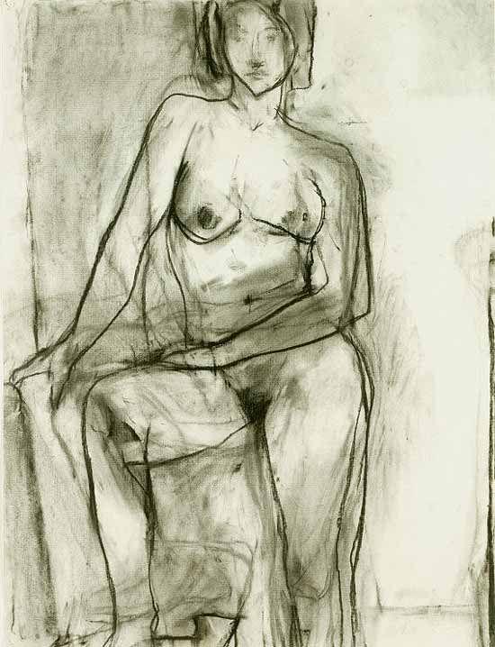 Richard Diebenkorn, Nude, 1966, phillipscollection.org