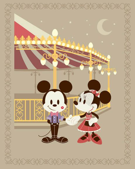 September 2014 Merchandise Events at the Disneyland Resort - Date Night will debut at WonderGround Gallery on Friday September 12th. I'll be there from 5pm - 7pm. Come say hello!