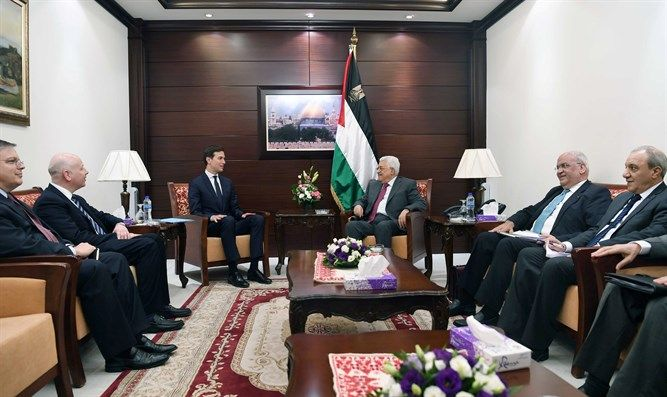 """PA officials 'frustrated' Trump won't commit to two states.Ahmed Majdalani, a senior member of the Palestine Liberation Organization (PLO) which Abbas heads, told AFP on Wednesday they were demanding """"a clear and frank answer on the position of the administration on the two-state solution and settlements."""" State Department Spokeswoman Heather Nauert explained earlier this week that committing to a two-state solution would """"bias"""" the outcome of a peace agreement between Israel and the PA."""