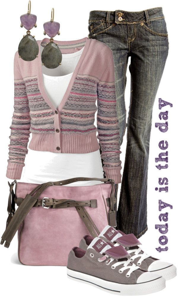 """today is the day"" by sagramora on Polyvore - Cambiando el rosado por negrito... totalmente yo :)"