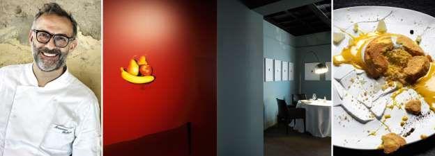 2. Osteria Francescana in Modena, Italië Chefkoks: Massimo Bottura (foto), Takahiko Kondo en Davide Di Fabio Soort keuken: Hedendaags Italiaans Signatuurgerecht: Het krokante deel van de lasagne