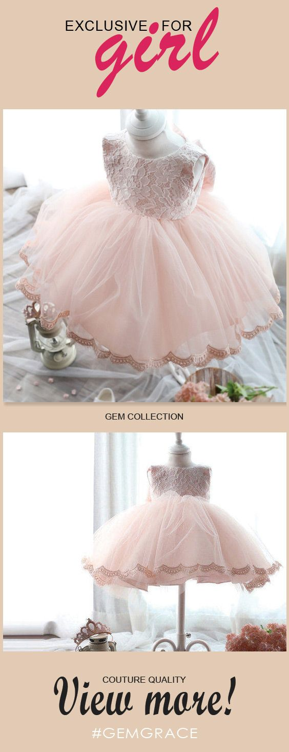 Only $64.99, Flower Girl Dresses Pink Lace Princess Ballgown Flower Girl Dress Vintage Puffy Tulle Girls Pageant Gown #TG7002 at #GemGrace. View more special Flower Girl Dresses now? GemGrace is a solution for those who want to buy delicate gowns with affordable prices, a solution for those who have unique ideas about their gowns. Find out more>>